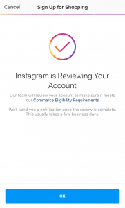 Review Instagram Shopping