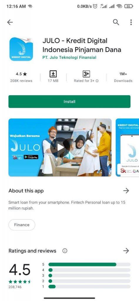 Aplikasi Kredit Digital Terpercaya